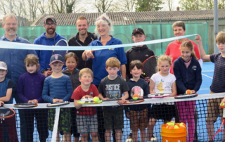 Wells President Opens new Courts