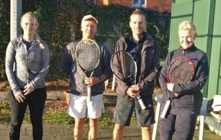 Wells B team Ginni, Martyn, Dave and julia