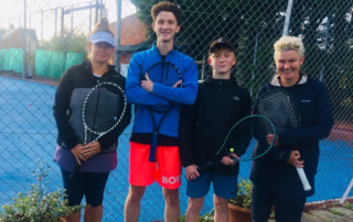 Marie, Jack, Tom and Captain Julia beat Wedmore C