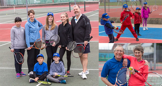 Wells Tennis Club Open Day
