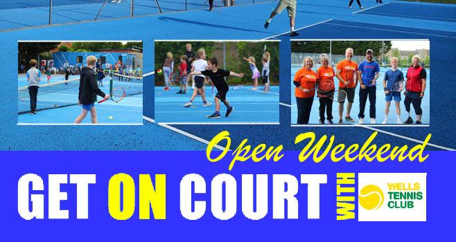 Wells Tennis Club Open Day 2021