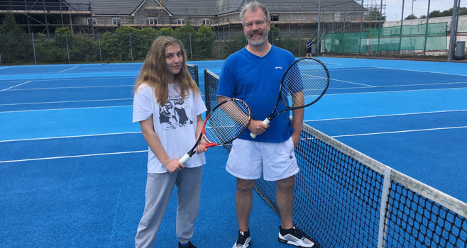 Members get back on court at Wells