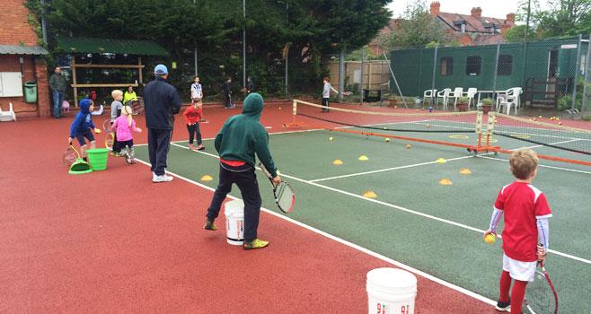 Half Term Tennis Camps @ Wells TC