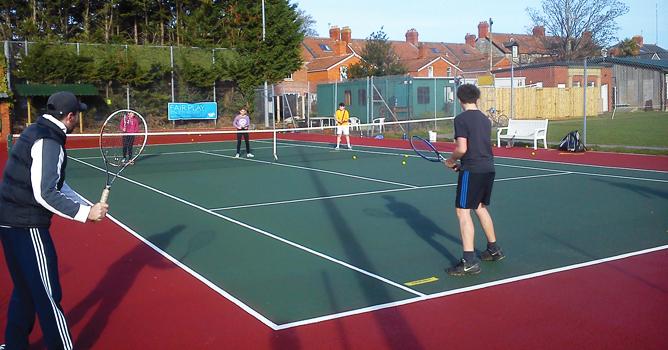 Easter Tennis at Wells Tennis Club