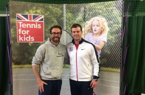 Head Coach Kevin Durney and GB captain Leon Smith