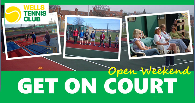 Open day tennis poster