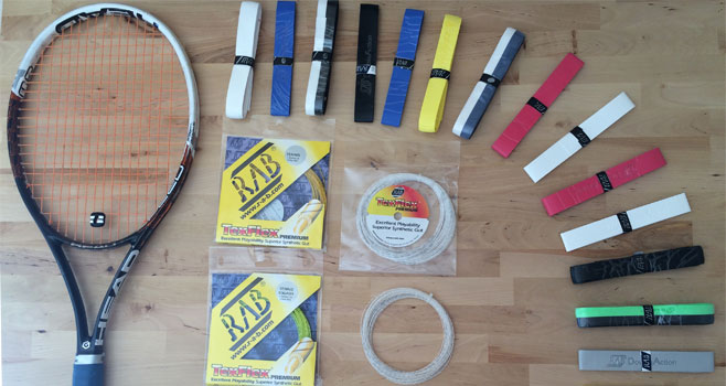 NEW Stringing and Gripping at Wells TC