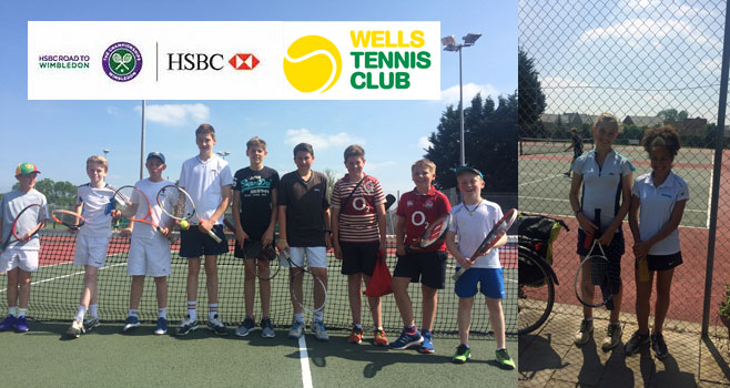 Great Day at Wells for Road to Wimbledon