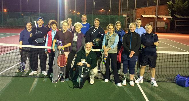 Rusty Rackets end of Year Charity Shindig