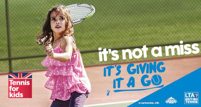 Tennis For Kids 2017 @ Wells TC