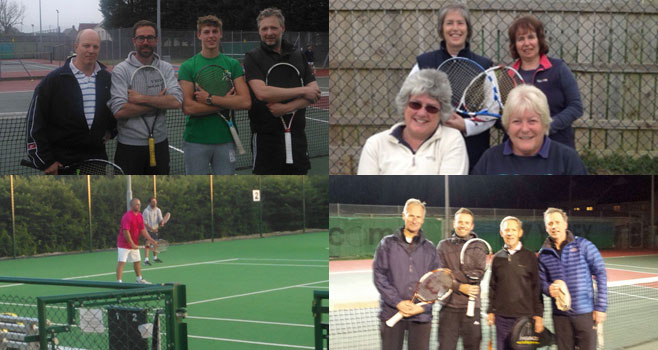 Summer League Tennis at Wells