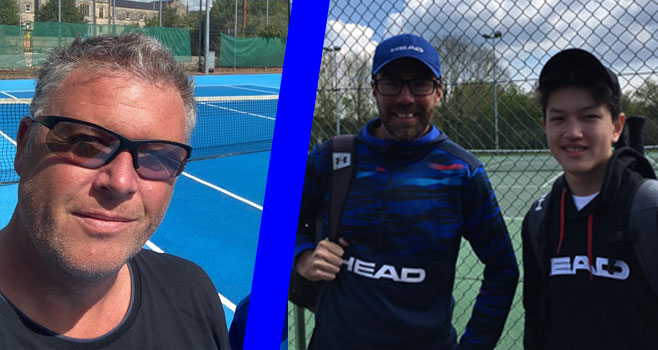 New chair and junior success marks return to tennis at Wells