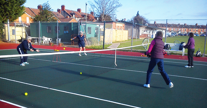 Improve your game with group/individual tennis lessons