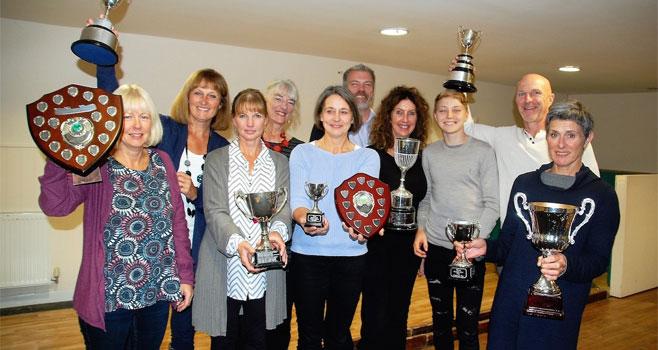 Wells winners celebrate their triumphs